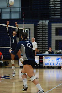 Oswego East volleyball Vs plainfield East 370