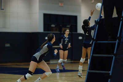 Oswego East volleyball Vs plainfield East 382