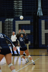 Oswego East volleyball Vs plainfield East 367