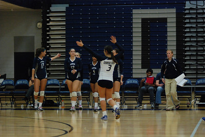 Oswego East volleyball Vs plainfield East 417