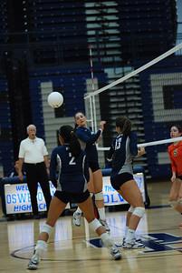 Oswego East volleyball Vs plainfield East 388
