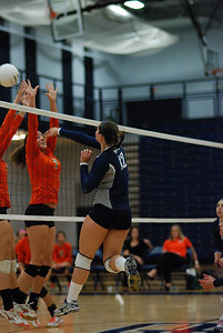 Oswego East volleyball Vs plainfield East 368