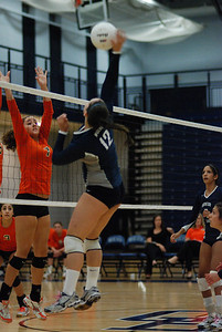 Oswego East volleyball Vs plainfield East 371