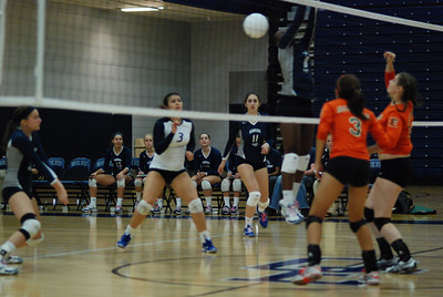 Oswego East volleyball Vs plainfield East 375