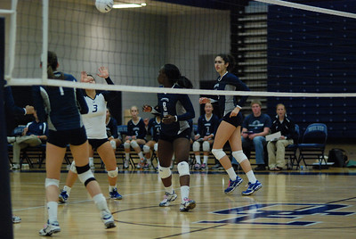 Oswego East volleyball Vs plainfield East 373