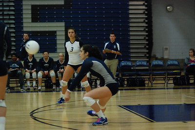 Oswego East volleyball Vs plainfield East 363