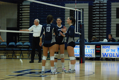 Oswego East volleyball Vs plainfield East 360