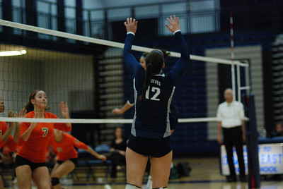Oswego East volleyball Vs plainfield East 364