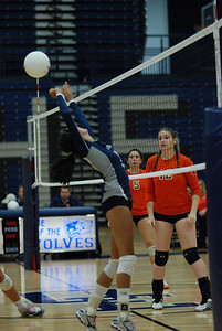 Oswego East volleyball Vs plainfield East 397