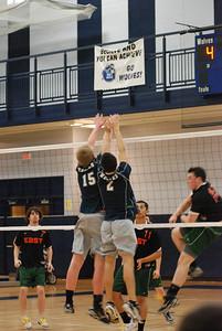 OE boys volleyball Vs Plainfield East 438
