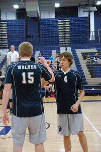 OE boys volleyball Vs Plainfield East 318