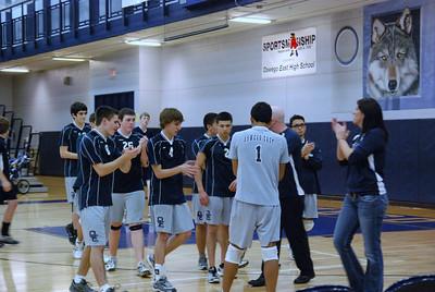 OE boys volleyball Vs Plainfield East 249