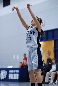 Oswego  East fresh girls Vs Plainfield Central 201