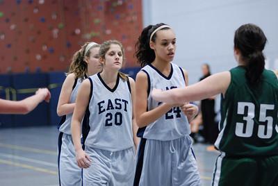Oswego  East fresh girls Vs Plainfield Central 229