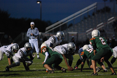 Oswego East football Vs Plainfield East 001
