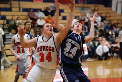 Oswego East  Basketball Vs Oswego 331
