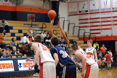 Oswego East  Basketball Vs Oswego 328