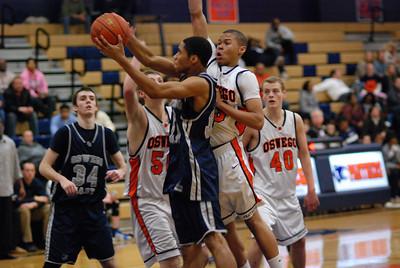 Oswego East  Basketball Vs Oswego 327