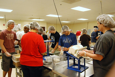 OEHS Football community  service 025