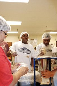 OEHS Football community  service 041