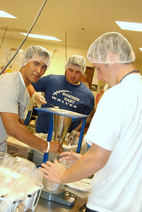 OEHS Football community  service 034
