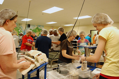 OEHS Football community  service 023