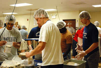 OEHS Football community  service 031