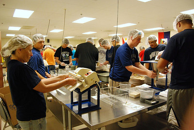 OEHS Football community  service 027