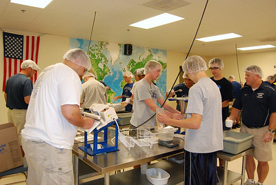 OEHS Football community  service 024