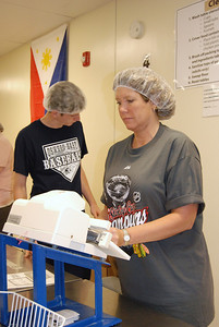 OEHS Football community  service 042