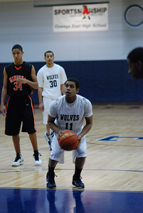 Oswego East Jv and Soph B game Vs Minooka 030