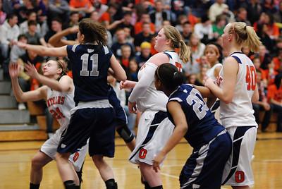 Oswego East Basketball Vs Oswego 105