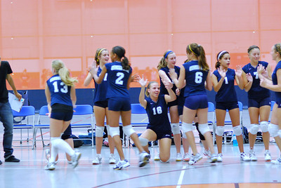 Oswego East VolleyBall Vs Oswego 009