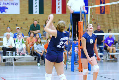 Oswego East VolleyBall Vs Oswego 042