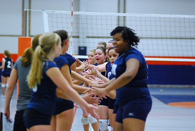 Oswego East VolleyBall Vs Oswego 260