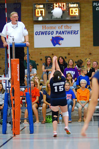 Oswego East VolleyBall Vs Oswego 306