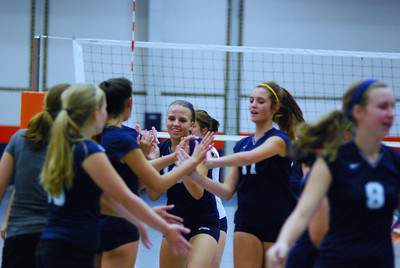 Oswego East VolleyBall Vs Oswego 264