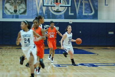 OE girls Basketball Vs Plainfield East 318