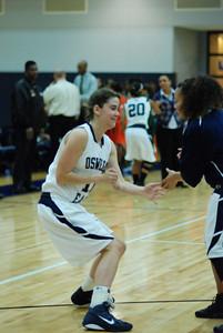 OE girls Basketball Vs Plainfield East 225