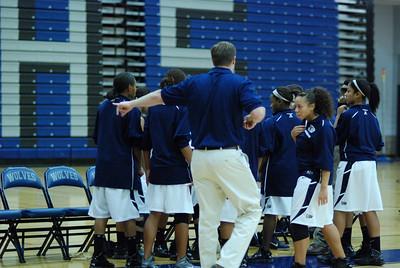 OE girls Basketball Vs Plainfield East 216