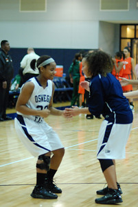 OE girls Basketball Vs Plainfield East 222