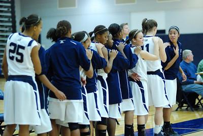 OE girls Basketball Vs Plainfield East 214