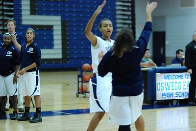 OE girls Basketball Vs Plainfield East 219