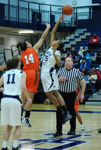 OE girls Basketball Vs Plainfield East 234