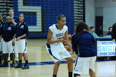 OE girls Basketball Vs Plainfield East 218