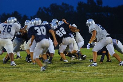 blue and silver scrimmage 2010 255