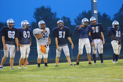 blue and silver scrimmage 2010 250