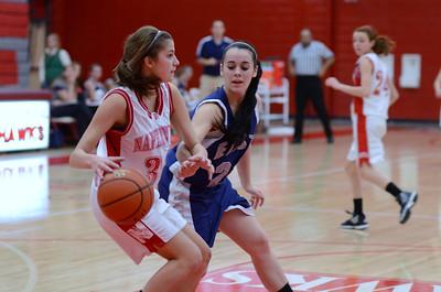 OE  girls basketball Vs Naperville Central 041