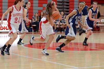 OE  girls basketball Vs Naperville Central 030