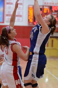 OE  girls basketball Vs Naperville Central 061